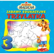Praca zbiorowa Zabawy edukacyjne trzylatka