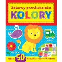 Praca zbiorowa Zabawy w przedszkolaka. Kolory